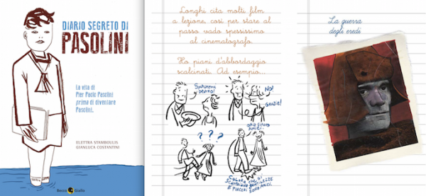 """""""Diario segreto di Pasolini"""". Una pagina"""