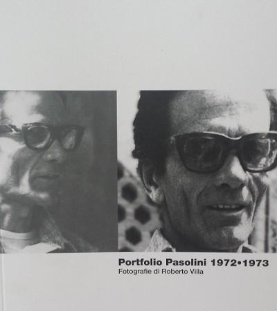 """""""Portfolio Pasolini 1972-1973"""". Copertina"""