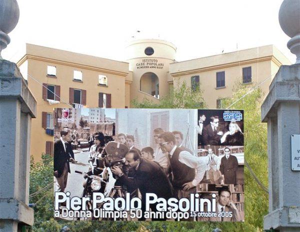 La festa per Pier Paolo Pasolini a Donna Olimpia (15 ottobre 2015)