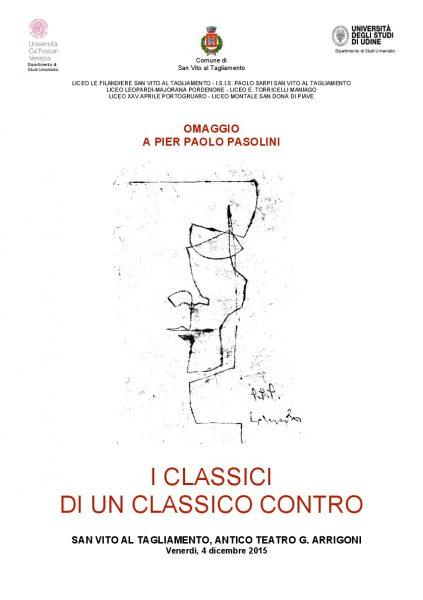 """Classici Contro"" 2015. Manifesto"