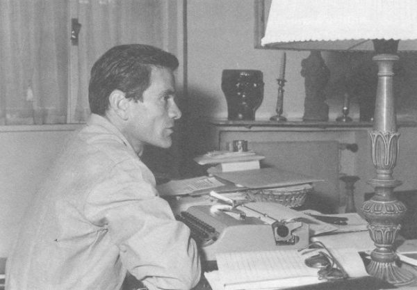 Pasolini nello casa di via Carini (1961)