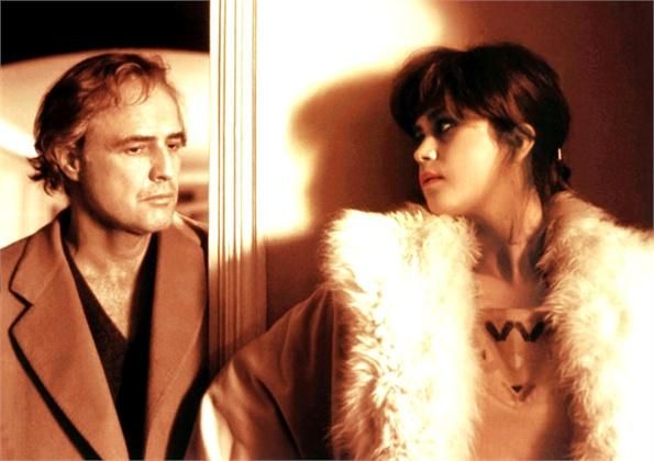 "Marlon Brando e Maria Schneider in ""Ultimo tango a Parigi"" (1970)"