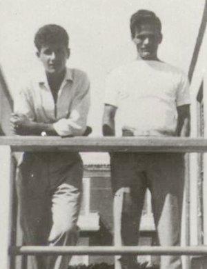 Vincenzo Cerami e Pasolini ai tempi della scuola di Ciampino