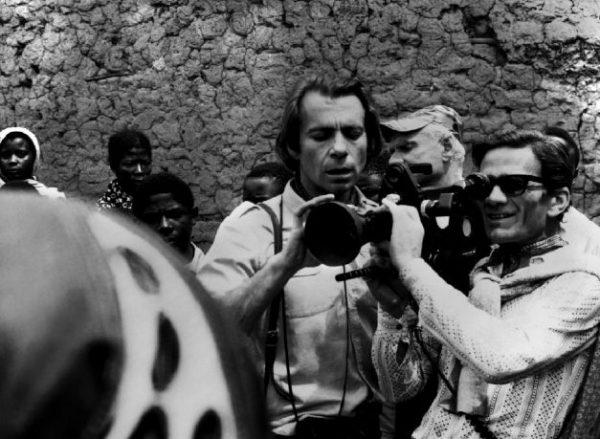 """Pasolini filma """"Appunti per un'Orestiade africana"""""""