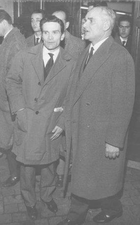 Pasolini e Alberto Moravia