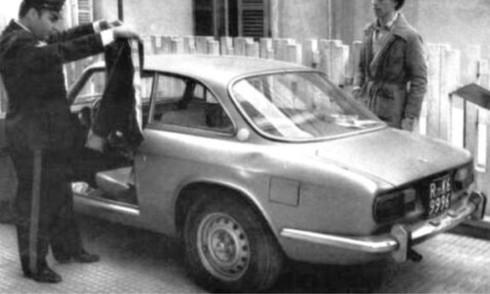 L'Alfa GT di Pasolini