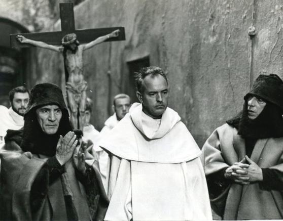 "Giuseppe Zigaina nel film ""Decameron"" di Pasolini"