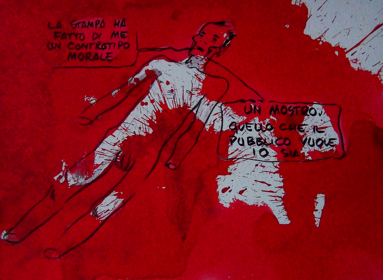 davide_toffolo_pasolini_2011_tecnica_mista_su_cartoncino_cm_22_x_25
