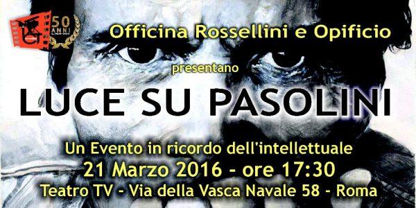 Istituto Rossellini per PPP. Manifesto