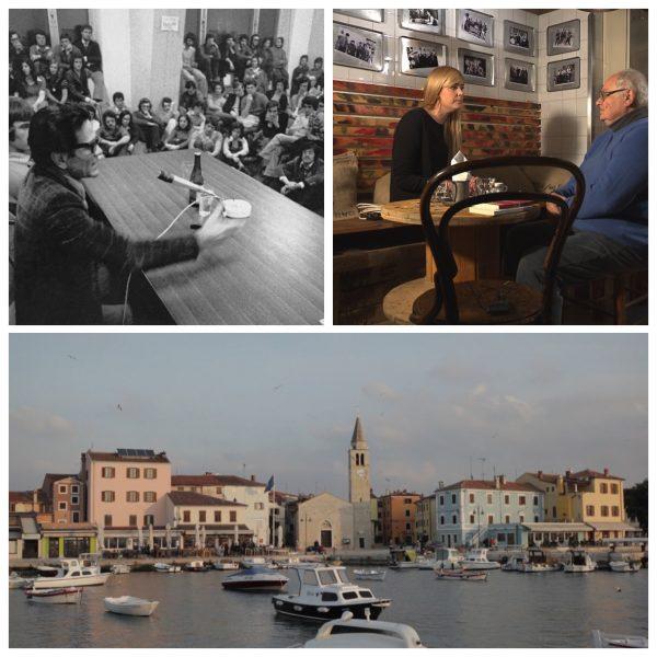 """Alcuni fotogrammi da """"Pasolini e i Confini a est"""" di Martina Vocci"""