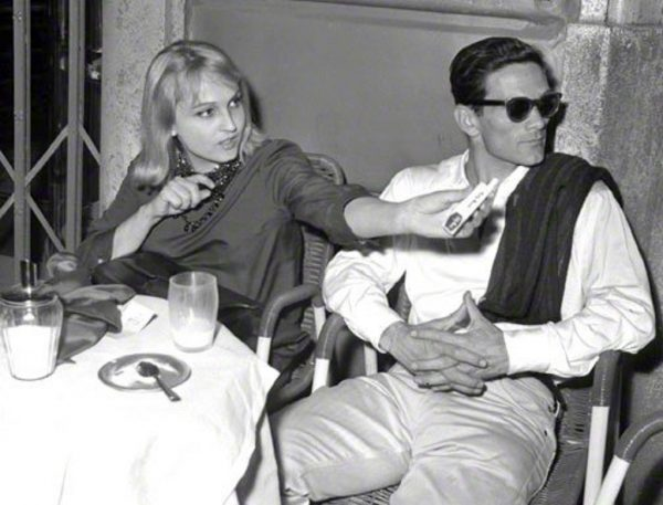 Laura Betti e Pasolini