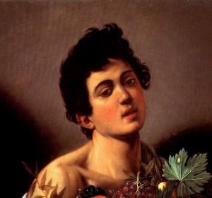 """""""Fanciullo con canestro di frutta"""" di Caravaggio"""