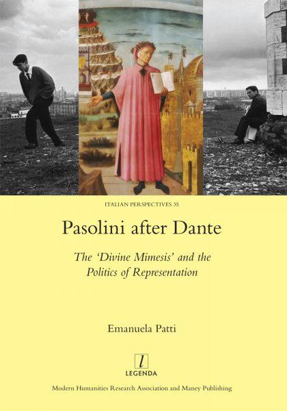 """Pasolini after Dante"" di Emanuela Patti. Copertina"