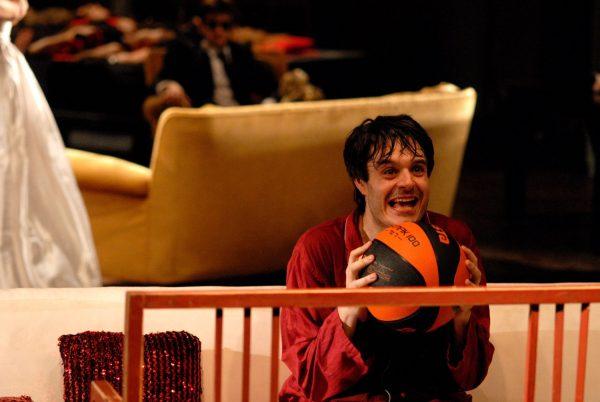 "Christian la Rosa - Oreste in ""Eumenidi"", regia Antonio Latella"
