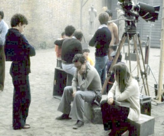 "Pasolini sul set di ""Salò"""