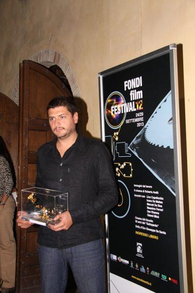 Claudio Giovannesi premiato al Fondi Film Festival (2013)