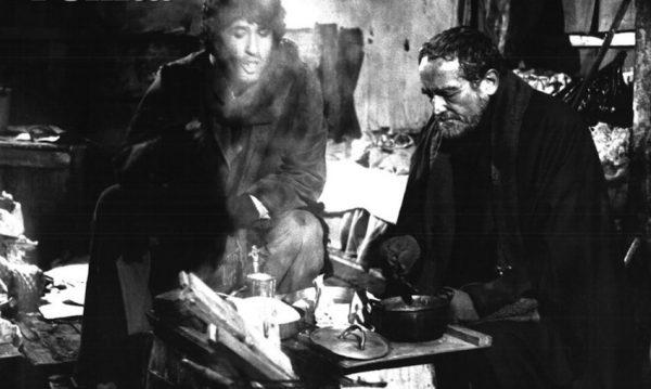 """Ninetto Davoli e Vittorio Gassman in """"L'altro enigma"""""""
