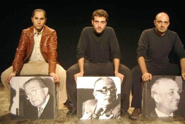 Da sx, Daniele Russo, Ivan Castiglione, Alessandro Castiglione
