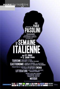 Parigi per Pasolini. Manifesto