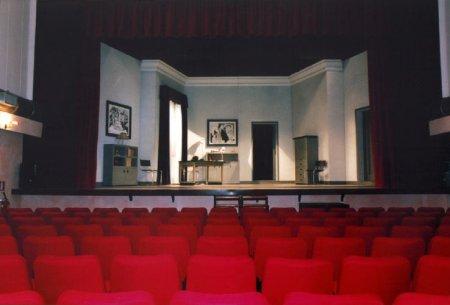 Teatro Manfredi di Ostia. Interno