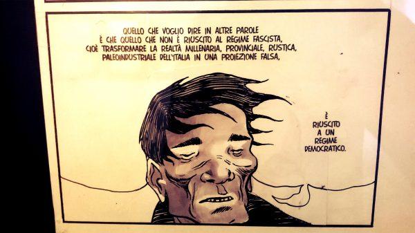 Un disegno di Davide Toffolo