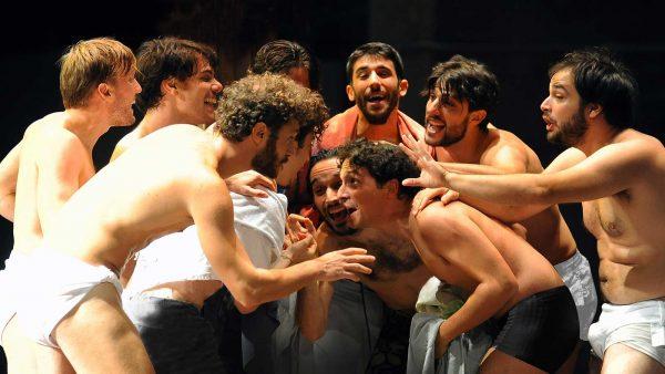 """""""Ragazzi di vita"""", regia di Massimo Popolizio. Foto di Achille Lepera"""