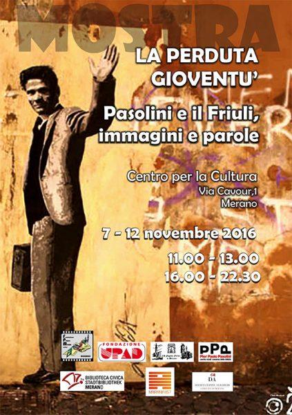 """""""La perduta gioventù"""" a Merano. Manifesto"""