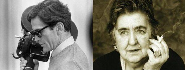 Pier Paolo Pasolini e  Alda Merini