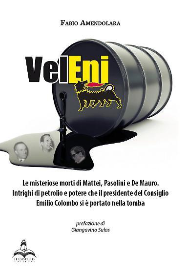 """""""VelEni"""" di Fabio Amendolara. Copertina"""
