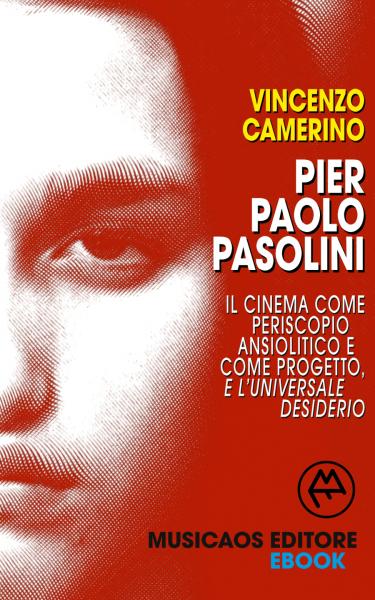 """""""Pier Paolo Pasolini. Il cinema"""" di Vincenzo Camerino. Copertina"""