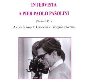 """""""Intervista a Pier Paolo Pasolini"""". Copertina"""