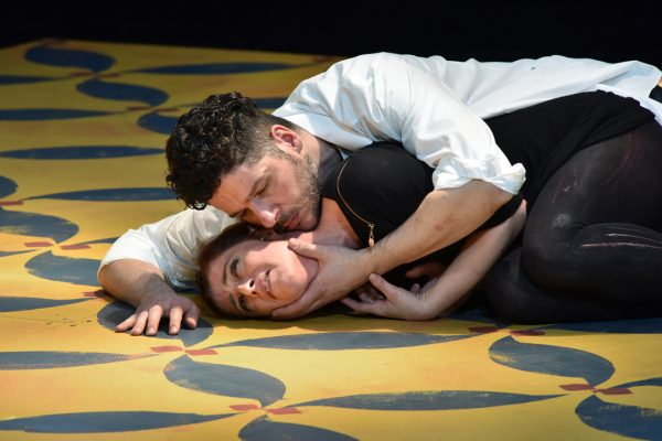 """Teorema"" al Teatro Stabile Sloveno. Foto di Peter Uhan"