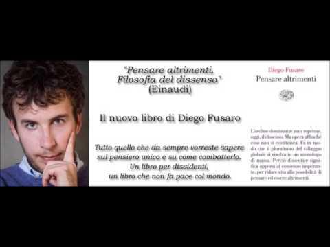 """""""Pensare altrimenti"""" di Diego Fusaro. Copertina"""