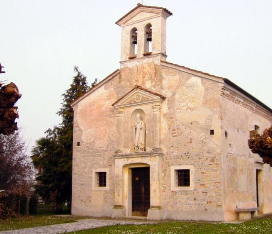 La chiesa di Sant'Antonio abate a Versuta di Casarsa della Delizia