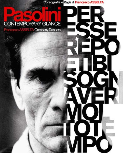 """Pasolini-Contemporary Glance"" a Fondi. Maifesto"