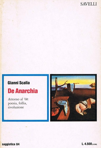 """De anarchia"" di Gianni Scalia. Copertina"
