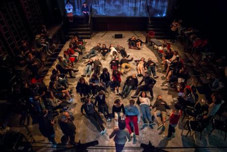 """""""Inferno"""" (2017) del Teatro delle Albe. Foto di Eleonora Dottorini"""