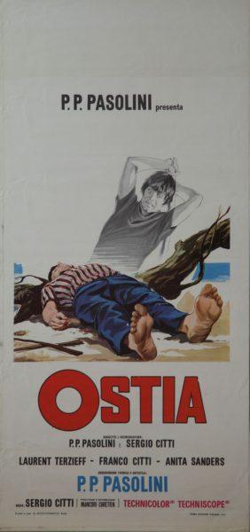 """""""Ostia"""" di Sergi Citti. Locandina Collezione Marzona"""