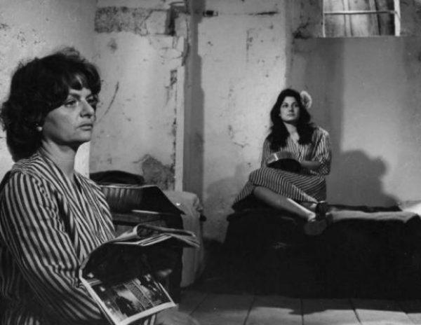 """Elsa Morante in """"Accattone"""" (1961) di Pasolini nei panni di una detenuta"""