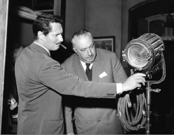 Pietro Germi e Carlo Emilio Gadda