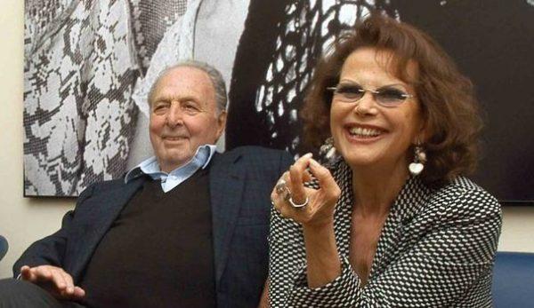 Manolo Bolognini con Claudia Cardinale