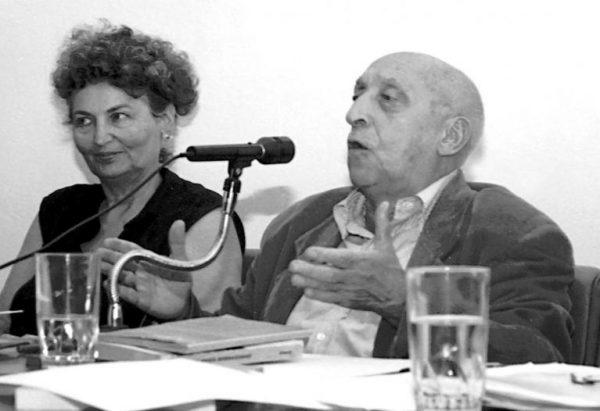 Francesco Leonetti in un'immagine della vecchiaia