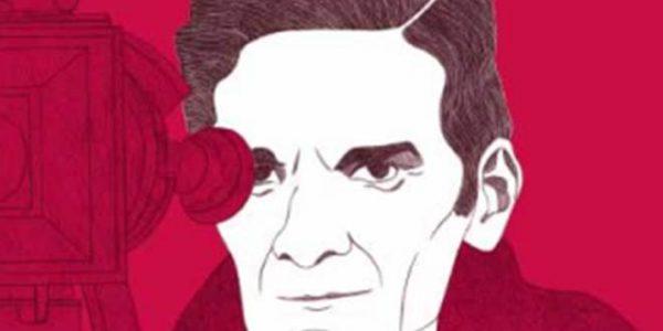 """""""Pasolini, il poeta corsaro"""" di Rossano Astremo. Immagine di copertina"""