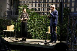 Aida Talliente e Fabiano Fantini