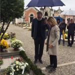 Il sindaco di Casarsa, Lavinia Clarotto, e il presidente del CSPPP, Piero Colussi