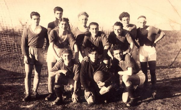 foto pasolini e il calcio sangiovannese 1941