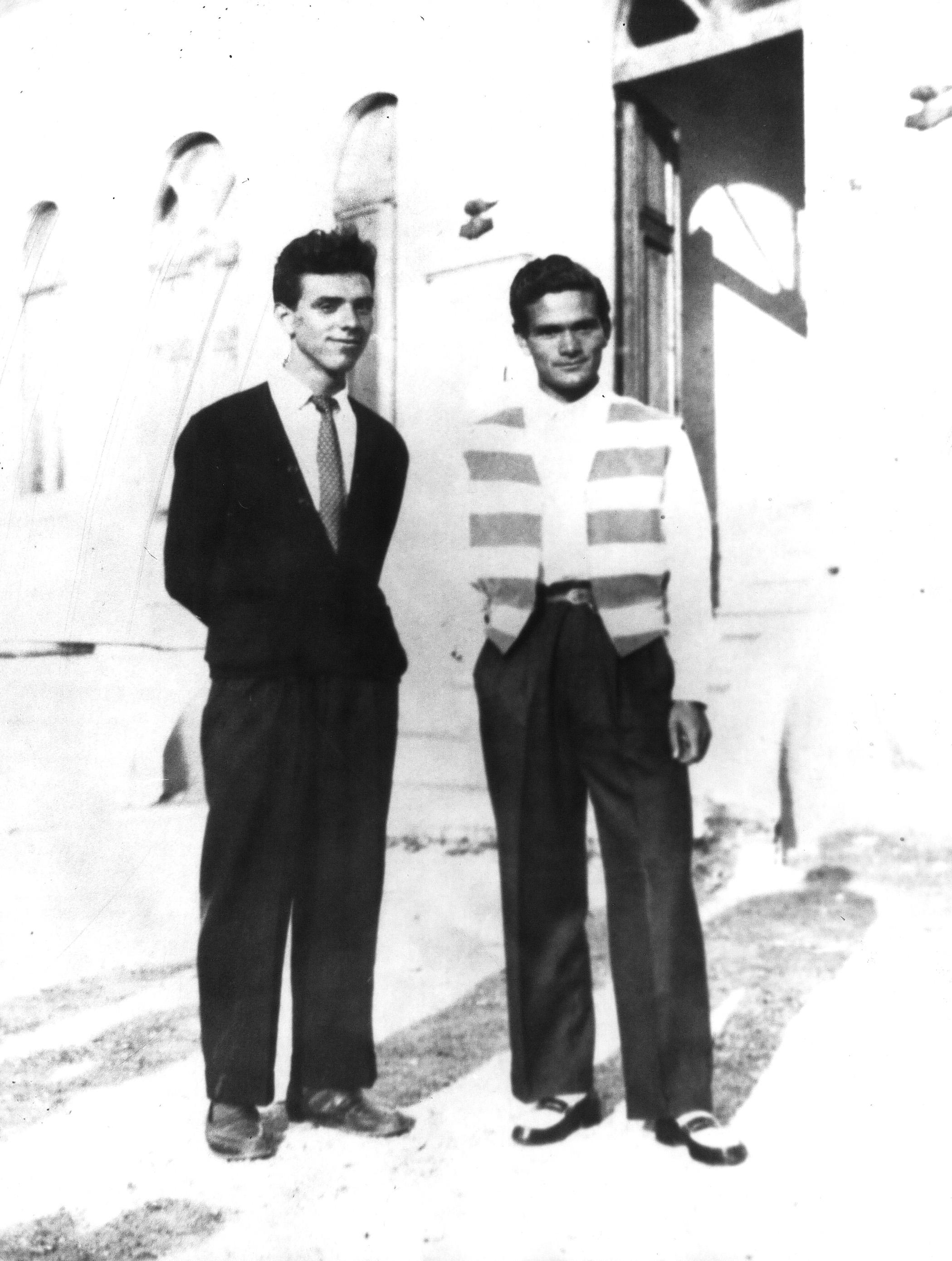 Pasolini e Nico Naldini